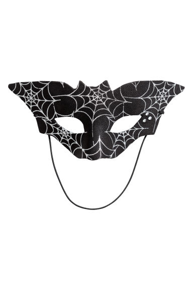 Fancy dress mask - Black/Bat - Kids | H&M GB 1