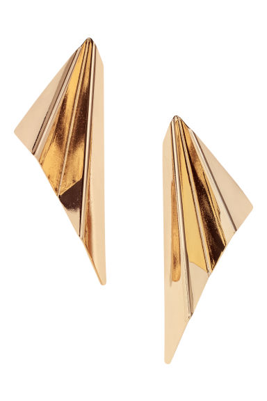 Large earrings - Gold-coloured - Ladies | H&M IE