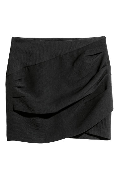 Short skirt - Black -  | H&M CN
