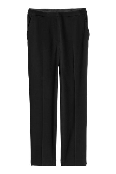 Tailored trousers - Black - Ladies | H&M GB