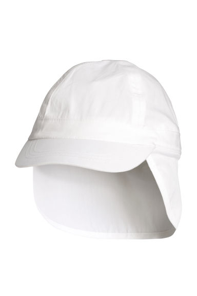 Sun cap - White - Kids | H&M
