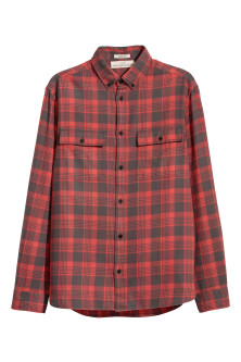 Flannel shirt Regular fit