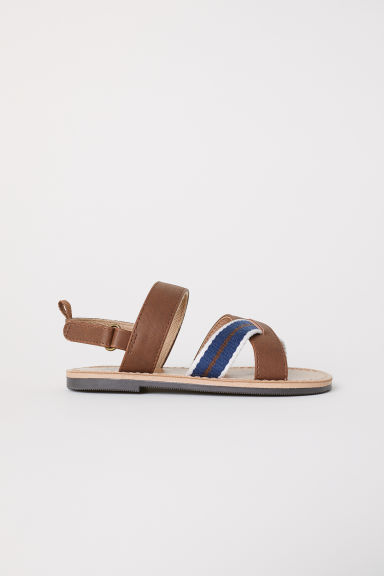 Sandals - Brown - Kids | H&M CN
