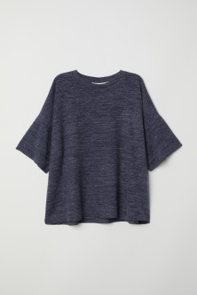 Short-sleeved jumper