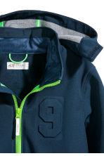 Softshell Jacket - Dark blue - Kids | H&M CN 3