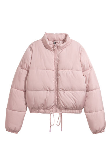 Padded jacket - Powder pink -  | H&M GB