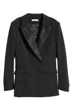 Tuxedo jacket - Black - Ladies | H&M IE 1