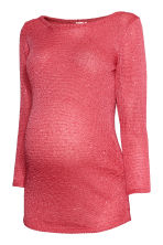MAMA Jumper with sequins - Coral/Sequins - Ladies | H&M CN 2