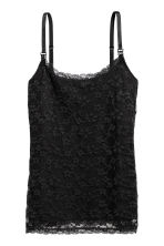 MAMA Lace nursing top - Black - Ladies | H&M GB 2