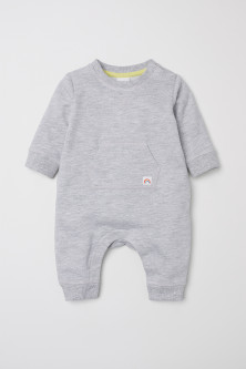Romper suit with a motif