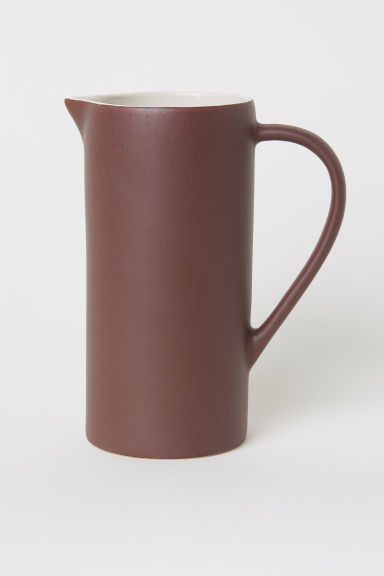 Stoneware jug - Brown - Home All | H&M CN