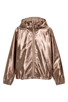Shimmery Metallic Jacket