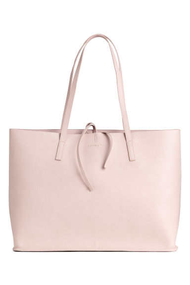 Reversible shopper - Powder pink -  | H&M IE