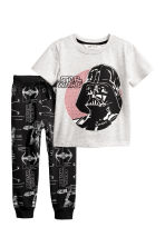 T-shirt and joggers - Grey/Star Wars - Kids | H&M CN 1