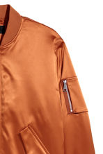 Padded bomber jacket - Dark orange - Men | H&M CN 3