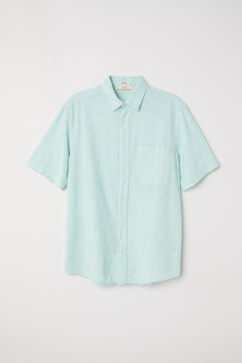 Regular Fit Short-sleeve Shirt