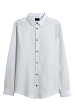 Shirt Slim fit - Light grey - Men | H&M IE 2