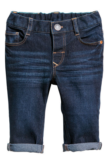Slim fit Jeans - Azul denim oscuro -  | H&M ES