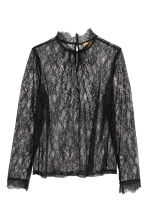 Lace top - Black - Ladies | H&M IE 2