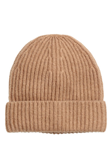 Cashmere hat - Beige - Ladies | H&M CN