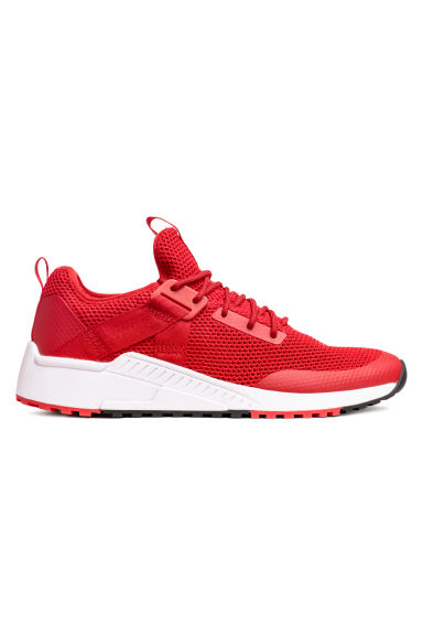 Mesh trainers - Red - Men | H&M