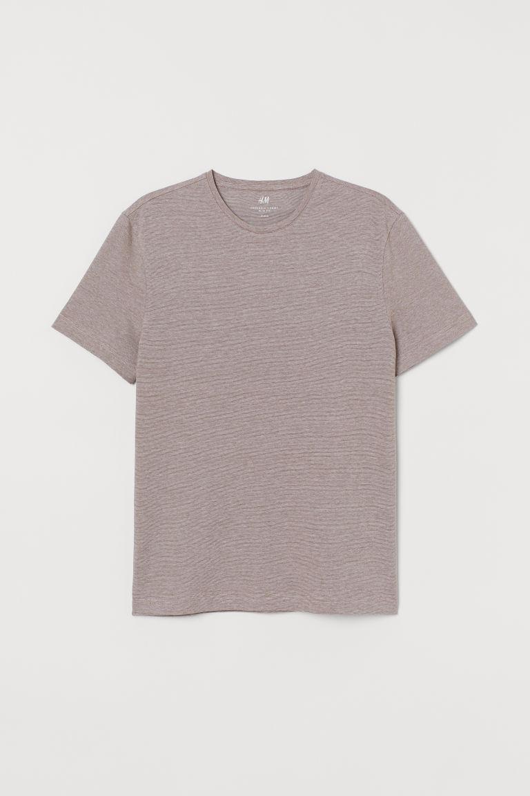 Slim Fit Crew-neck T-shirt