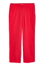 H&M+ Wide suit trousers - Red - Ladies | H&M CN 2
