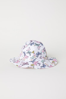 Patterned sun hat