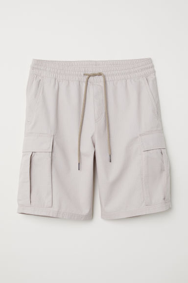 Short cargo - Taupe clair - HOMME | H&M FR