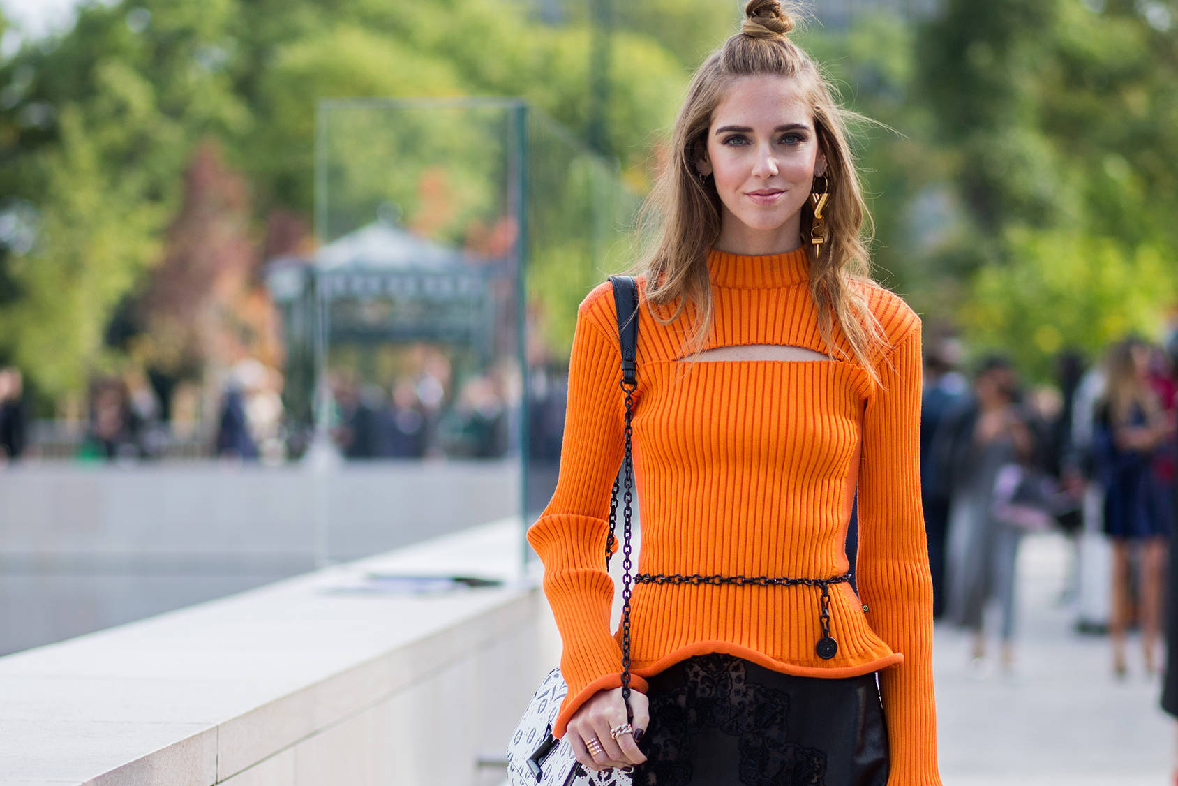 Chiara Ferragni is one of the members in the H&M Design Award jury, Getty Images.