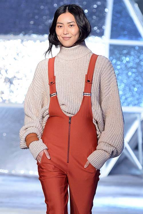 Liu Wen at the H&M Studio Collection A/W 2015 show in Paris, Getty Images.