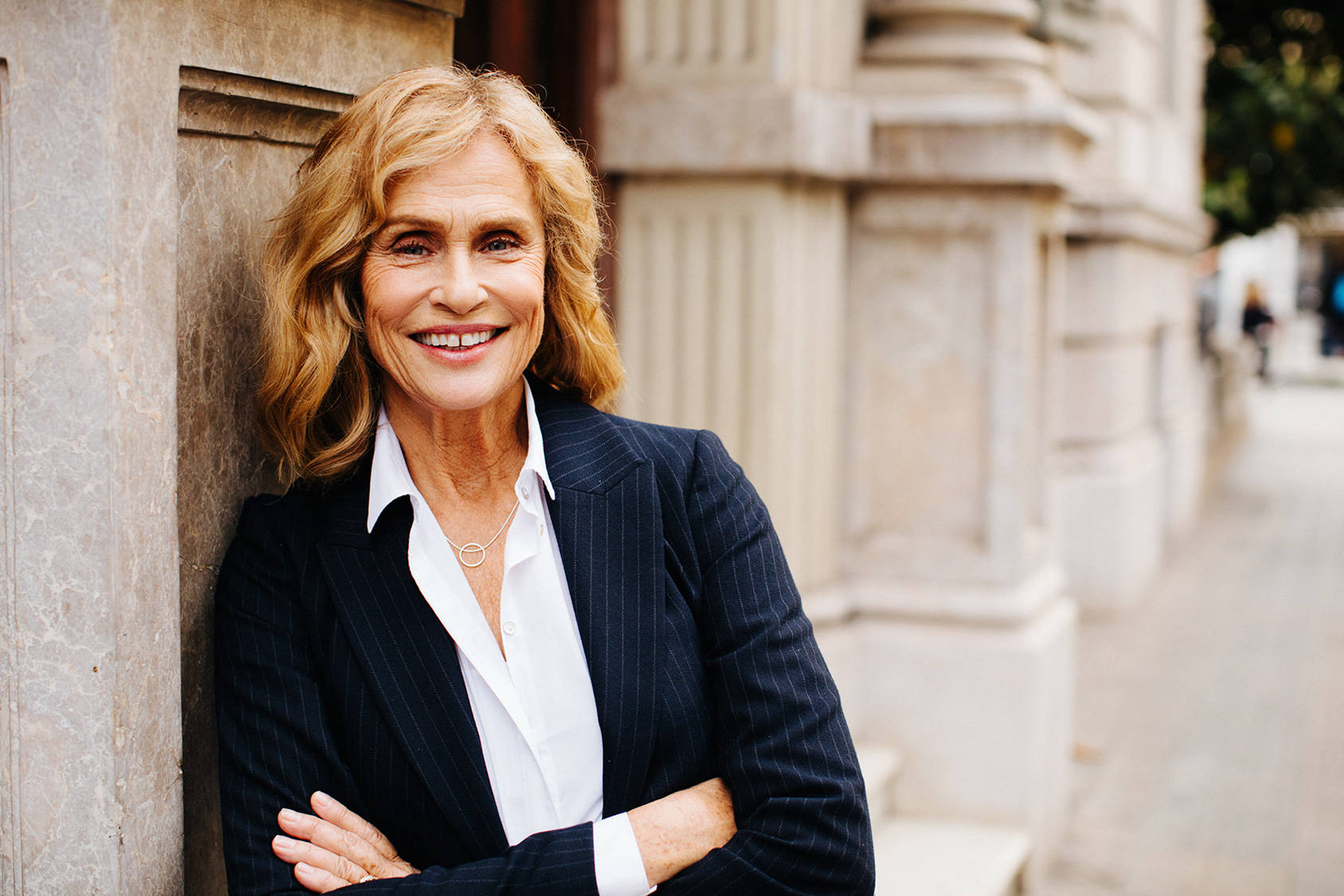 LAUREN HUTTON IS STILL HOPEFUL