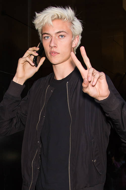 Lucky Blue Smith, Getty Images.