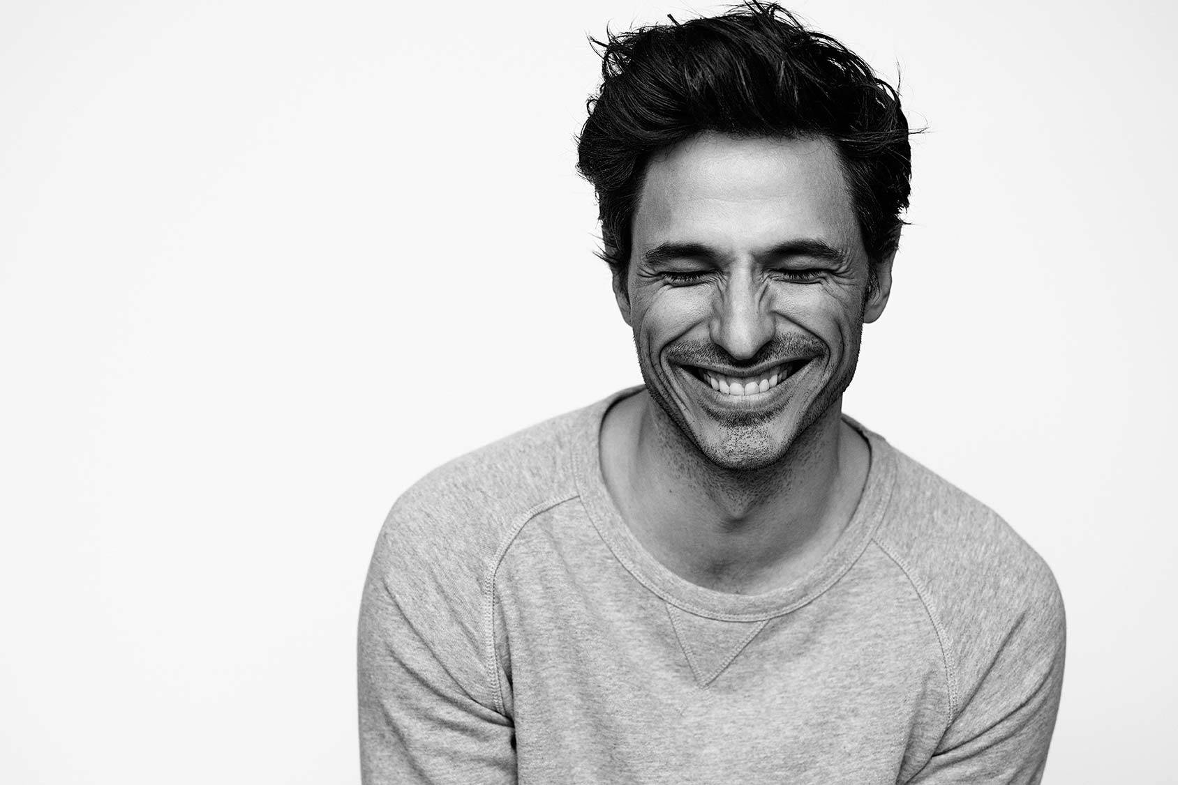 Spanish top model Andrés Velencoso, Joel Rhodin/Mink Management.