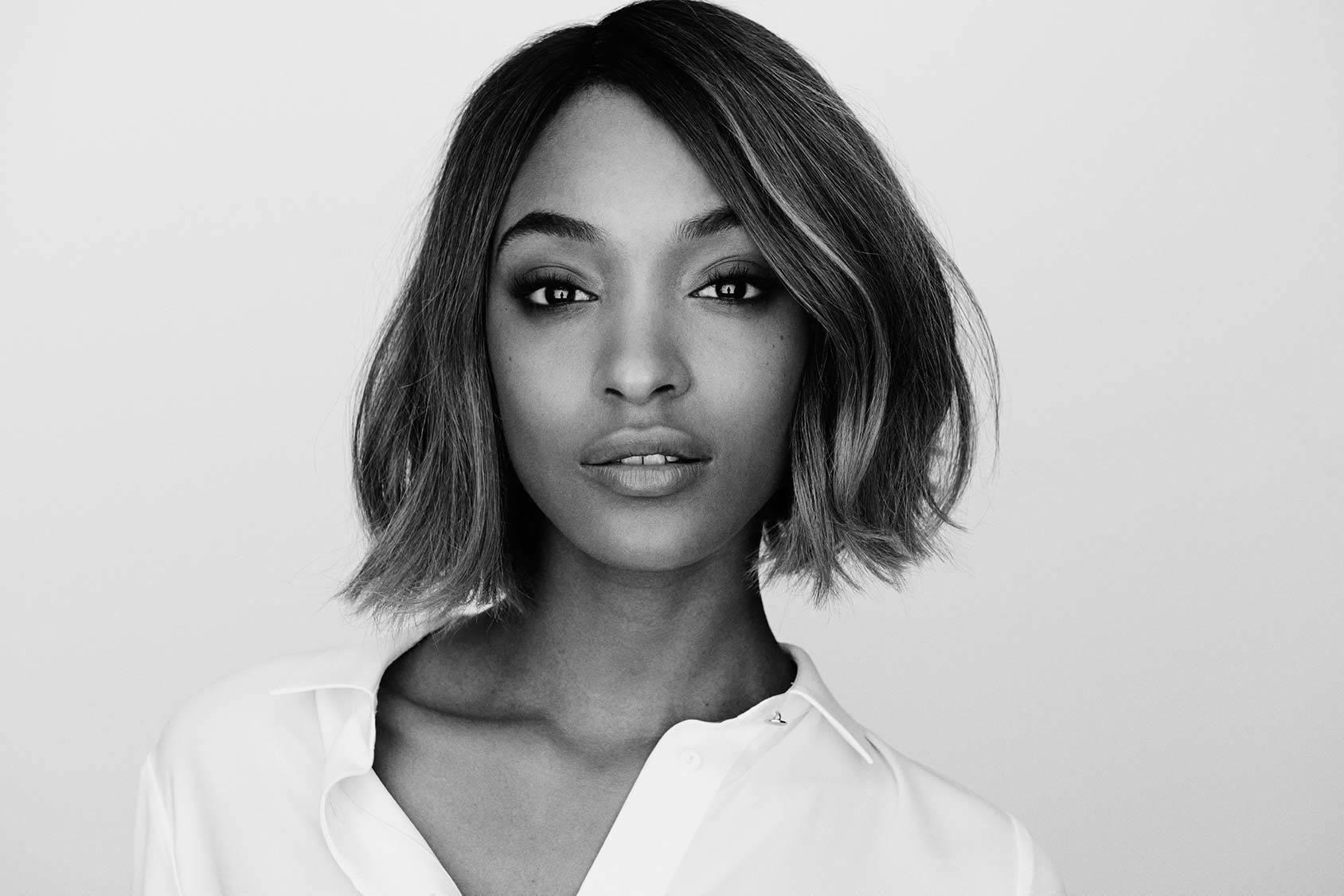 London born top model Jourdan Dunn, Viktor Flumé.