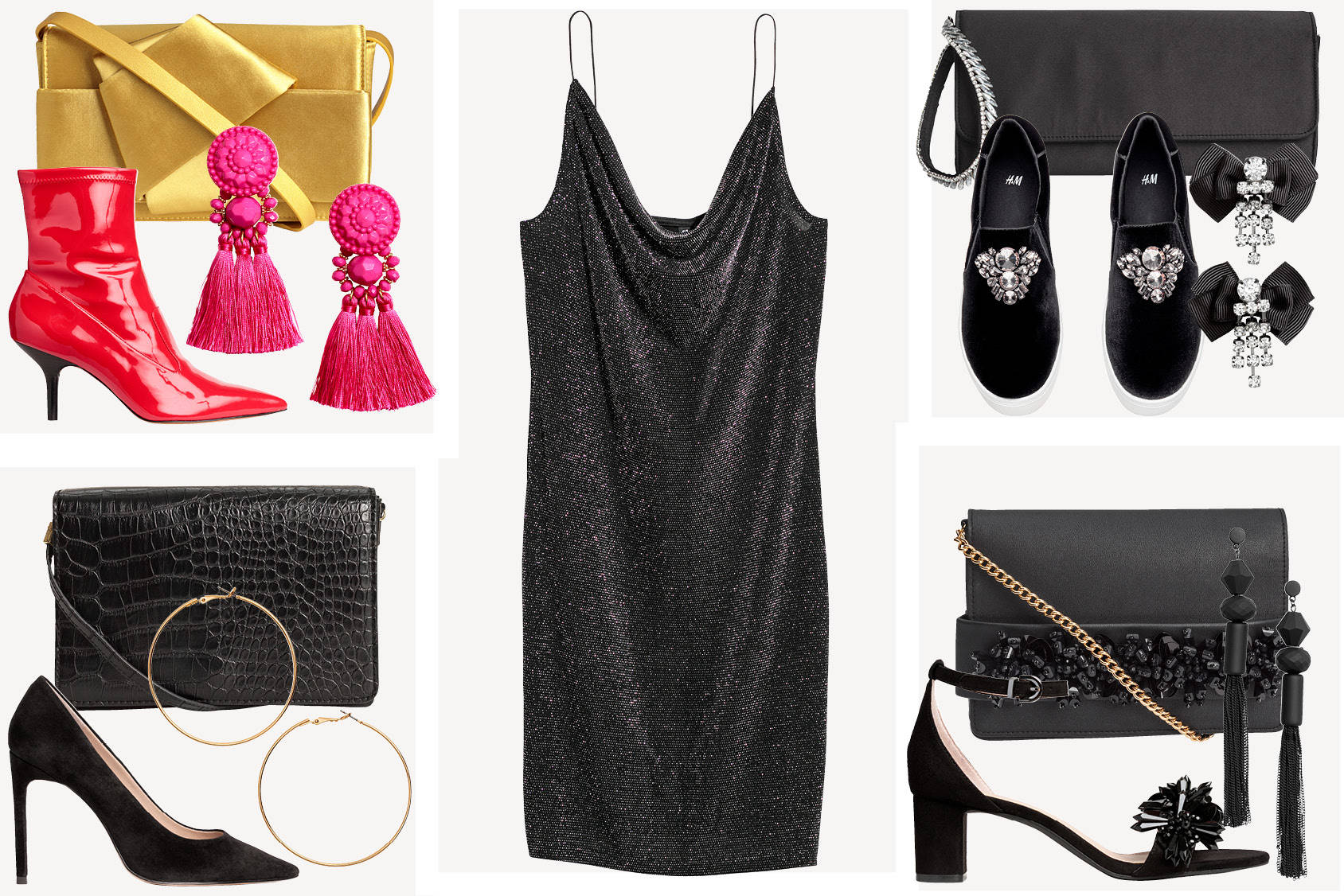 4 ways to style the perfect party dress
