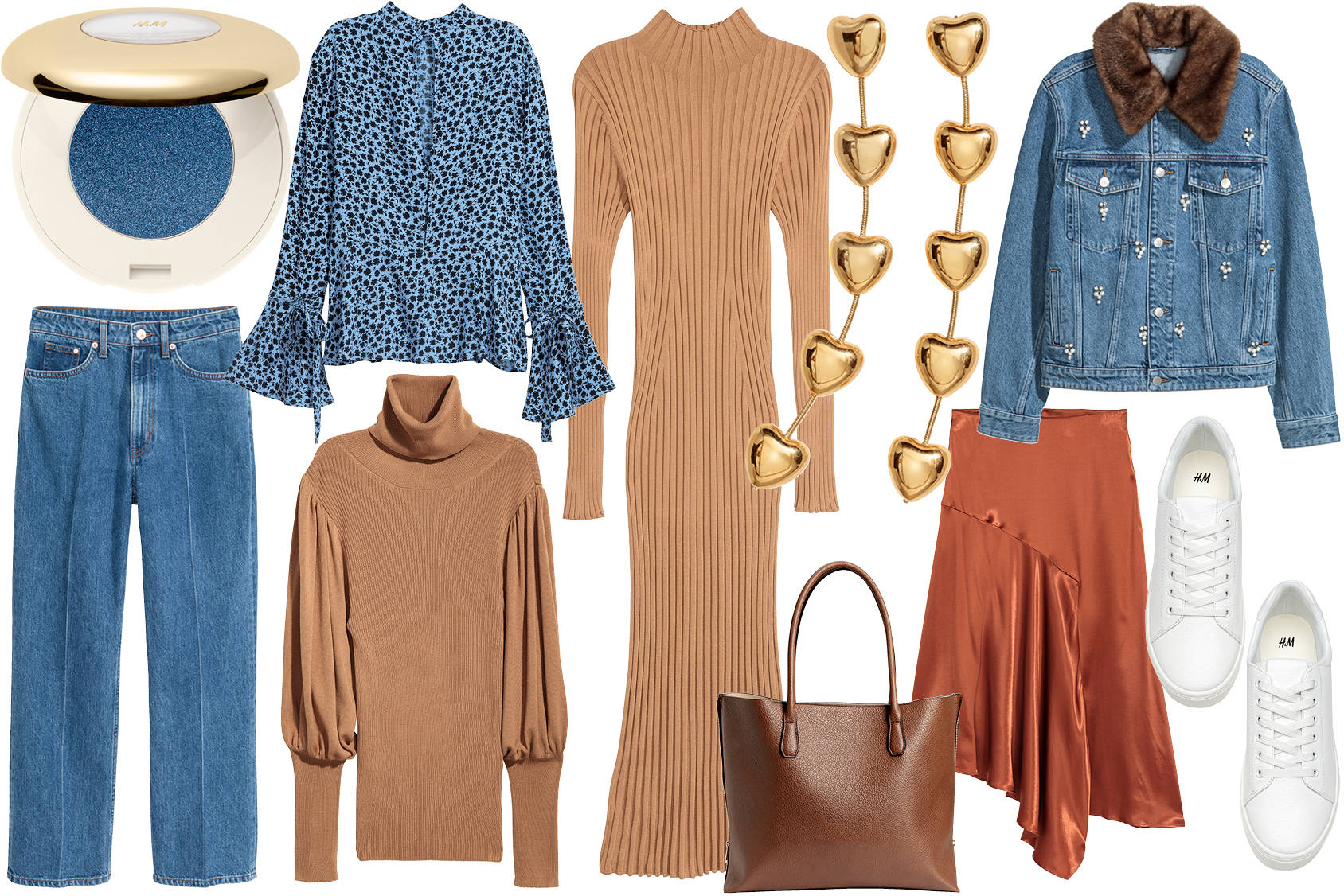 Fall's best combo: camel blues