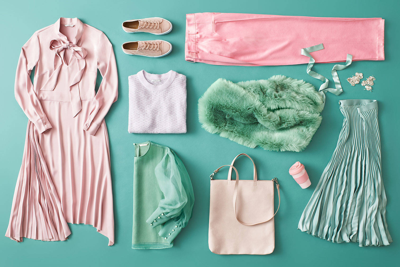 Pretty in pastels