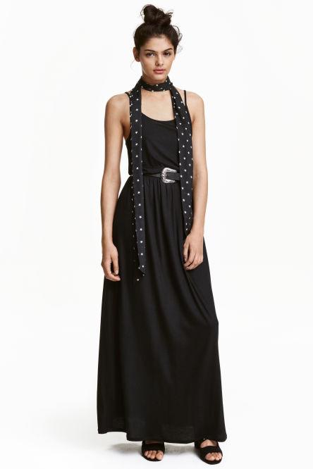 robes longues robes femme h m. Black Bedroom Furniture Sets. Home Design Ideas