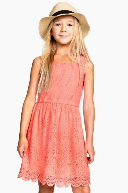 robes et jupes fille 8 14 ans et plus fille enfant h m. Black Bedroom Furniture Sets. Home Design Ideas