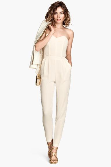 Combinaison Style Bustier Cru Femme H M Fr