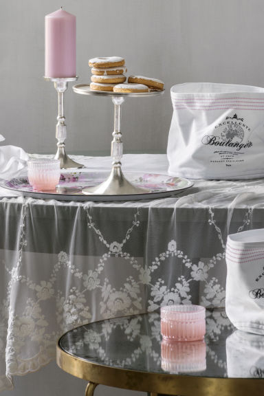 corbeille de rangement blanc h m fr. Black Bedroom Furniture Sets. Home Design Ideas
