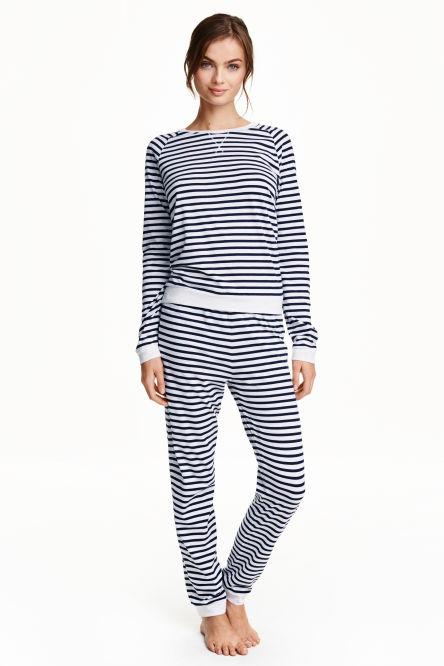 pyjamas femme v tements de nuit femme h m. Black Bedroom Furniture Sets. Home Design Ideas