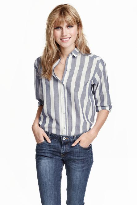 Chemisiers et blouses d couvrez les derni res tendances en ligne h m - H et m en ligne ...