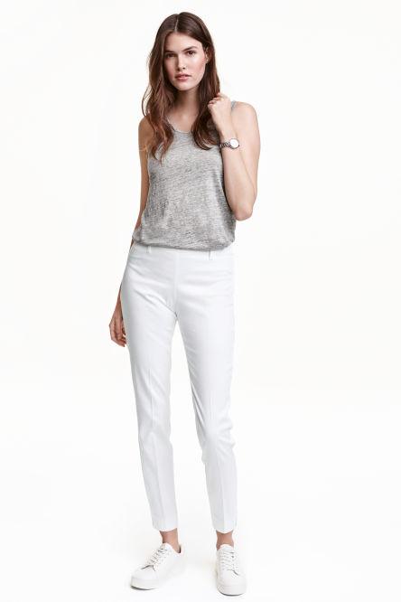 chinos et pantalons pour femme shopper en ligne h m. Black Bedroom Furniture Sets. Home Design Ideas