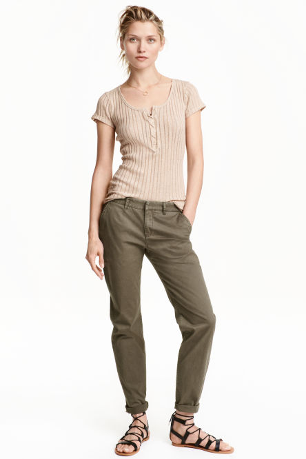 Chinos & Slacks for women - shop online | H&M