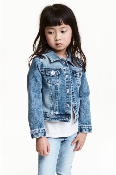 veste en jean bleu denim enfant h m fr. Black Bedroom Furniture Sets. Home Design Ideas