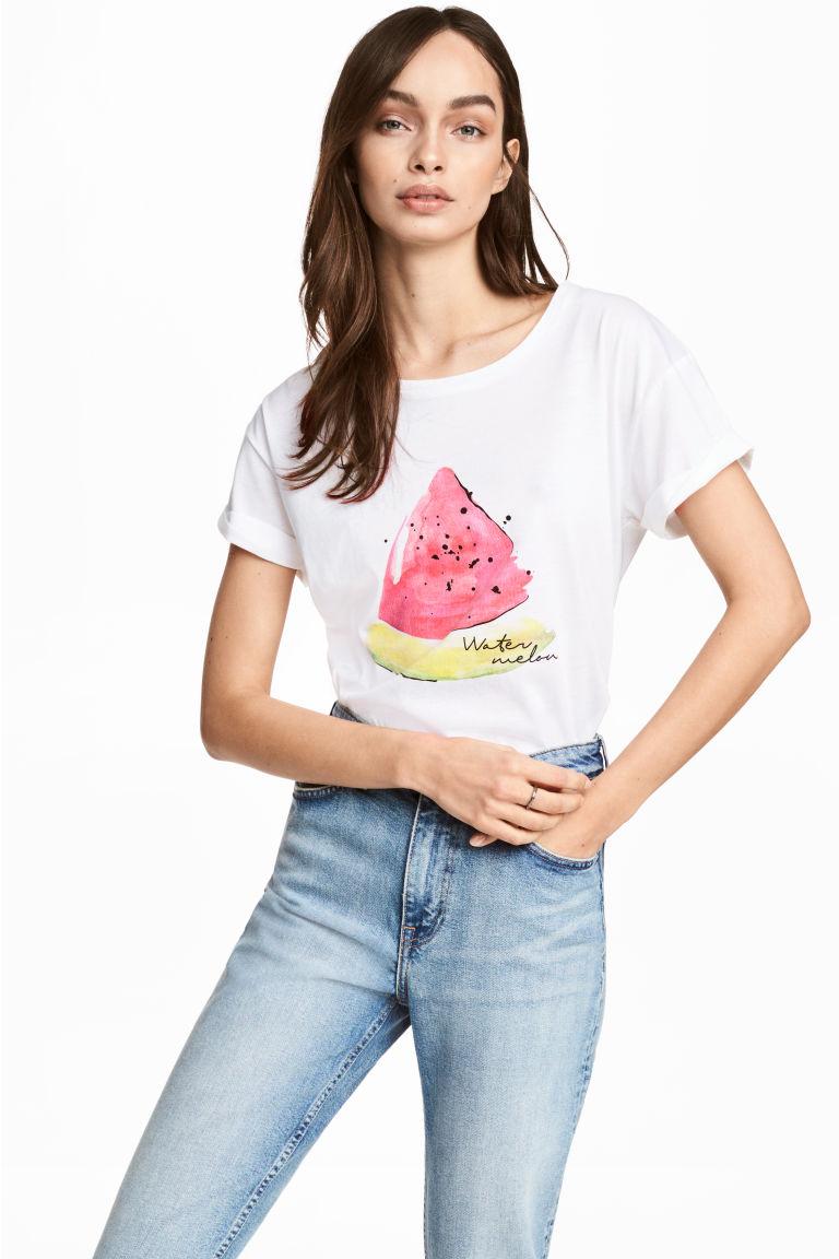 Женский топ с арбузиком | H&M