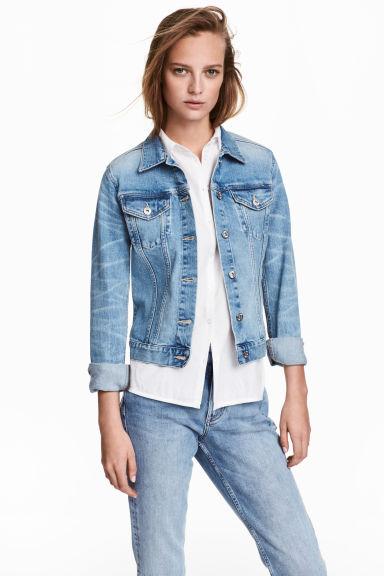 Jeansjasje - Denimblauw - DAMES | H&M BE 1