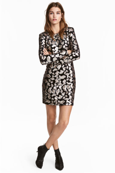 jurken koop damesjurken online h m nl. Black Bedroom Furniture Sets. Home Design Ideas